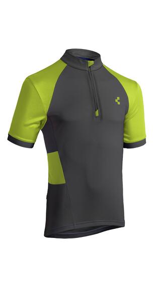 Cube Tour Challenge Jersey korte mouwen Heren groen/olijf
